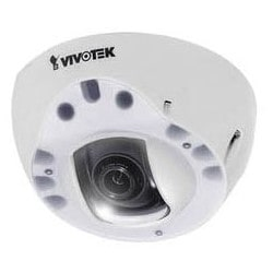 Network Camera, Dome, WDR, Day/Night, Indoor, H.264/MJPEG, 1280 x 1024 Resolution, F2.0 Fixed Focal 2.8 MM Lens, 256 MB RAM/128 MB Flash, 5.1 Watt, PoE, White