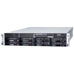 Network Video Recorder, Embedded, 64-Channel Video Input, H.265, 512 Mbps Video Record Throughput, 100 to 220 Volt AC, 740 Watt, 6 TB