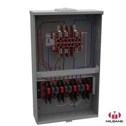 Meter Socket, Transformer Rated, 13 Terminal, Ringless, 20 Amp, Small Closing Plate, Steel