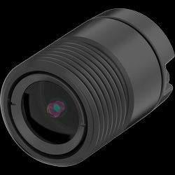"Network Camera Sensor Unit, Fixed Lens, Indoor, 8 Meter Pre-Mounted Cable, 0.79"" Diameter x 1.15"" Length, 1920 x 1080 Resolution, 25/30 FPS, Aluminum/Plastic"