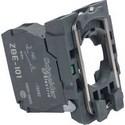 Single Contact Block With Body/Fixing Collar 1No Screw Clamp Terminal