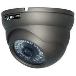 IR PoE IP Dome Camera, 1/3 Inch Sony Exmor, 2 MP, 3.6 mm, F2.0 Lens, Black