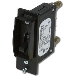 Circuit Breaker Kit, mini-BDFB, 25A, MAG, TOG, 65VDC, Long, Delay, Slim Line