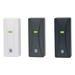 Door Access Control Reader, Mini-Mullion Mount, 8.89 CM Read Range, 125 Kilohertz, 44.5 MM Width x 106.7 MM Depth x 25.4 MM Height, Black