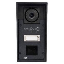 Helios IP Force 1 bouton, caméra, pictogrammes, lecteur de carte uniquement