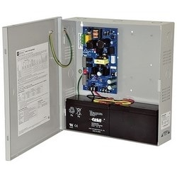 Power Supply Charger, Single Output, 12/24VDC @ 2A, Aux Output, FAI, LinQ2 Ready, 115VAC, BC300 Enclosure