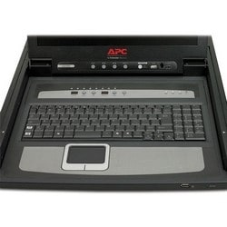 """17"""" Rack LCD Console with Integrated 8 Port Analog KVM Switch"""