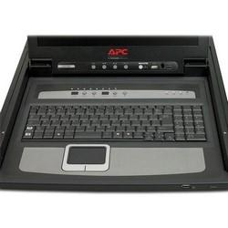 """17"""" rack Console LCD avec commutateur KVM analogique d'intégré Port 8"""