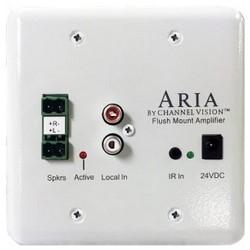 Flush Mount Amplifier, 85 dB Signal to Noise Ratio, 24 Volt DC, 50 Watt