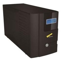 "Uninterruptible Power Supply, Line Interactive, 1000 VA, 19"" Length x 11"" Width x 12"" Height, Black"
