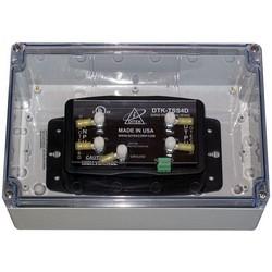 Protection de l'alimentation VAC 120 avec des contacts secs, dans une enceinte de X Nema 4
