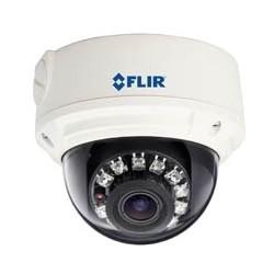 Network Camera, Vandal Dome, IP, HD, NTSC/PAL, WDR, Day/Night, H.264/MJPEG, 1920 x 1080 Resolution, Varifocal 3.3 to 12 MM Lens, 12 Volt DC 7.2 Watt, PoE