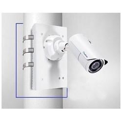 "Camera Pole Mount Bracket Kit, 6.3"" Width x 9.5"" Height Bracket, 6 to 7.5"" Diameter Steel Strap"