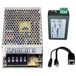 Camera Power Kit, 24 Volt DC Antenna, Includes Cast Aluminum NEMA 4X, Converter, Injector, Wall/Pole Mount Unit Bracket