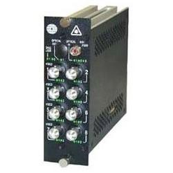 Video Transmitter, Single-Mode, 1-Fiber, 8-Channel, Digital, 60 dB, 1310 Nanometer, 12 Watt, ST/FC Optical Connector