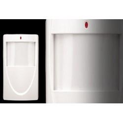 "Microwave/PIR Detector, Adaptive Dual, Wall/Corner Mount, 24 Volt DC, 100 Milliampere Alarm, 50' x 40' Range, 2.5"" Width x 1.9"" Depth x 3.3"" Height"