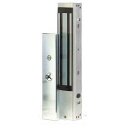 Magnetic Door Lock, Single Door, Surface Mount, 12/24 Volt DC, 600 Lb Load