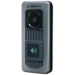 Wireless Door Camera Unit, 3AA Battery or 10 to 24 Volt AC/DC, 2.4 Gigahertz, Color Vision Day/ IR Vision Night, IPX4