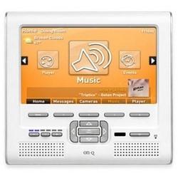 """Console LCD, connecteur RJ45, Cat 5 câble UTP, recevoir de 10 à 110 Kilohertz IR fréquence, 7,25"""" largeur x profondeur 3,5"""" x 7"""" hauteur, blanc, avec Lyriq"""