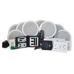 Intercom and Audio Kit, 100 Watt Speaker, Enclosure/Ceiling/Electrical Box Mount, Oil Rubbed Bronze