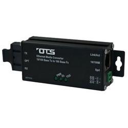 Ethernet Media Converter, Multimode, 1-Fiber, SC/ST, 10/100 Mbps Ethernet, 1550/1310 Nanometer, 12/24 Volt DC, 36.2 MM Length x 98 MM Width x 24.5 MM Height