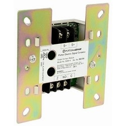"""Addressable Single Contact Module, Class B, 22 to 24 Volt, 325 Microampere Standby, 1 Milliampere Alarm, 4.17"""" Length x 4.17"""" Width, For Fire Alarm Control Panel"""