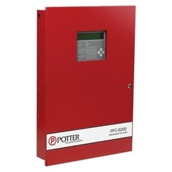 "Fire Alarm Control Panel, 127 Expandable, 254-Point Addressable, 5 Ampere, 17-5/8"" Width x 3-3/4"" Depth x 26"" Height"