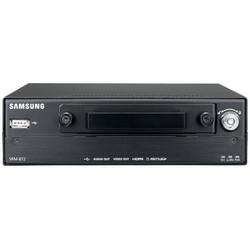 NVR mobile, canal 8 PoE (8 W Max. par canal), 1 to, 64 Mbit/s débit d'enregistrement caméras réseau Samsung Support PNP, ONVIF, 12-24 V DC entrée
