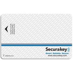 "Access Control Barium Ferrite Card, 3.375"" Length x 2.125"" Width x 0.044"" Thk"
