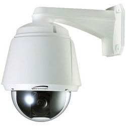 PTZ Camera, Dome, IR, 28x Optical Zoom, WDR, Day/Night, Indoor/Outdoor, 700 TVL, 3.5 to 98 MM Lens, 24 Volt AC/12 Volt DC