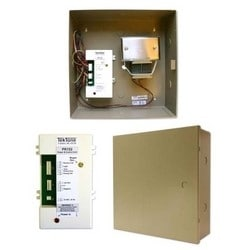"Power and Control Kit, Surface Mount, Pigtail Connection, 11.75"" Width x 3.75"" Depth x 11.75"" Height, Cold Rolled Steel, Includes Power and Control Unit, Transformer"