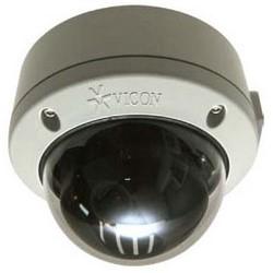 Montage en Surface IP caméra dôme anti-vandale intérieur/extérieur, p 1080 (2 MP) résolution maximale, 1/2,8 dans. Caméra jour/nuit haute résolution avec DNR, 3-9 mm Auto-Iris varifocal, PoE, 24 V AC ou 12 V DC capacité, chauffage et Dôme