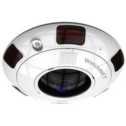 IR Camera, Panoramic, Dome, Ultra HD, DWDR, DNR, Day/Night, H.264/MJPEG, 3072 x 2048 Resolution, Fisheye 1.6 MM Lens, 24 Volt AC/12 Volt DC, PoE