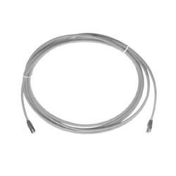Cable Assembly Mod 26 AWG 4 paire échoués 6 a T568A/B 10 pi XG gris Slim Line F/UTP de catégorie