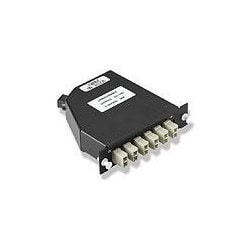 Fiber Optic Distribution Products; FO Distribution Product Type: Fiber Cassette Single-mode Preloaded Wiring Pattern: Crossed Fiber Optic Connector Style: LC
