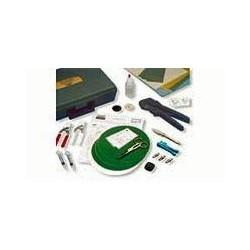 Trousse d'outils de fibre optique, résiliation Tool Kit, pour connecteurs SC