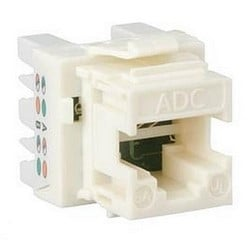 Cable Mounted Jacks; Connector - Modular Keystone Series Jack Type: RJ45 8 Positions Wiring Pattern: Universal