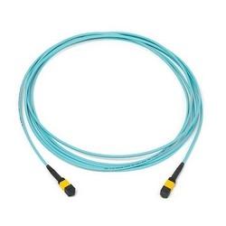 MPOptimate 12 Fiber OM4 Xg Trunk Cable MPO-MPO, 100Mt Aqua