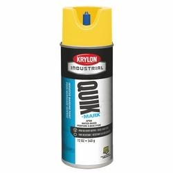 Quik-Mark Water-Based Inverted Marking Paint, APWA Brilliant Yellow