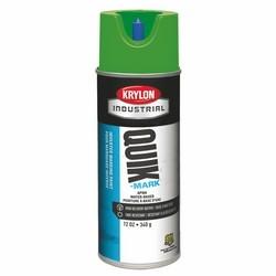 Quik-Mark Water-Based Inverted Marking Paint, APWA Brilliant Green