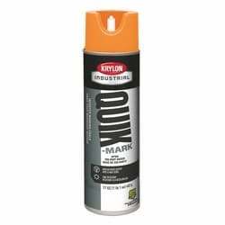 Quik-Mark Solvent-Based Inverted Marking Chalk, APWA Orange