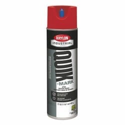 Quik-Mark Solvent-Based Inverted Marking Paint, APWA Red