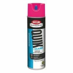 Quik-Mark Water-Based Inverted Marking Paint, Fluorescent Pink