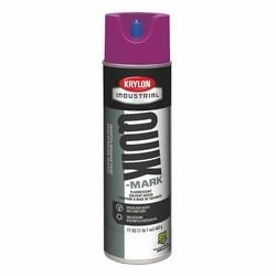 Quik-Mark Solvent-Based Inverted Marking Paint, Fluorescent Purple