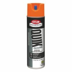 Quik-Mark Solvent-Based Inverted Marking Paint, Fluorescent Orange