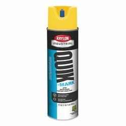 Quik-Mark Water-Based Inverted Marking Paint, APWA Utility Yellow
