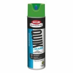 Quik-Mark Water-Based Inverted Marking Paint, APWA Green