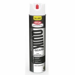 Quik-Mark Tallboy Solvent-Based Inverted Marking Paints, APWA Utility White