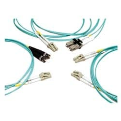 LazrSPEED 550 LC to LC, Fiber Patch Cord, 1.6 mm Duplex, Riser, 40 FT