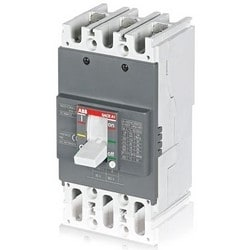 Molded Case Circuit Breaker, Thermal Magnetic, 550 Volt AC, 250 Volt DC, 20 Ampere, 3-Pole, 76.2 MM Width x 60 MM Depth x 130 MM Height